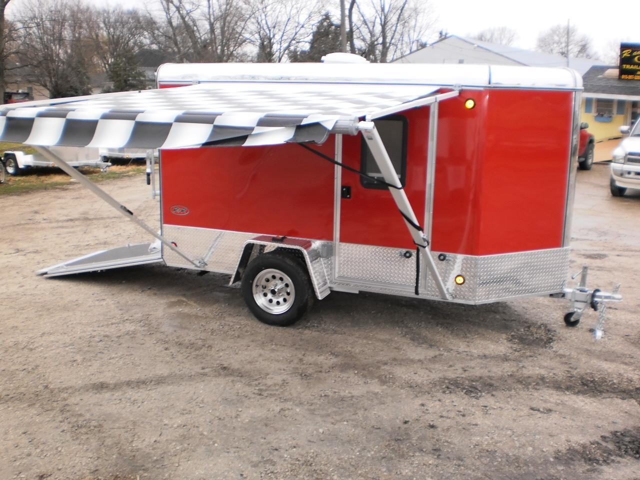 ... R and R 5 x 10 All Aluminum VDC Worlds Smalled ... & R and R All Aluminum 5 x 10 - Worlds Smallest Toy Hauler