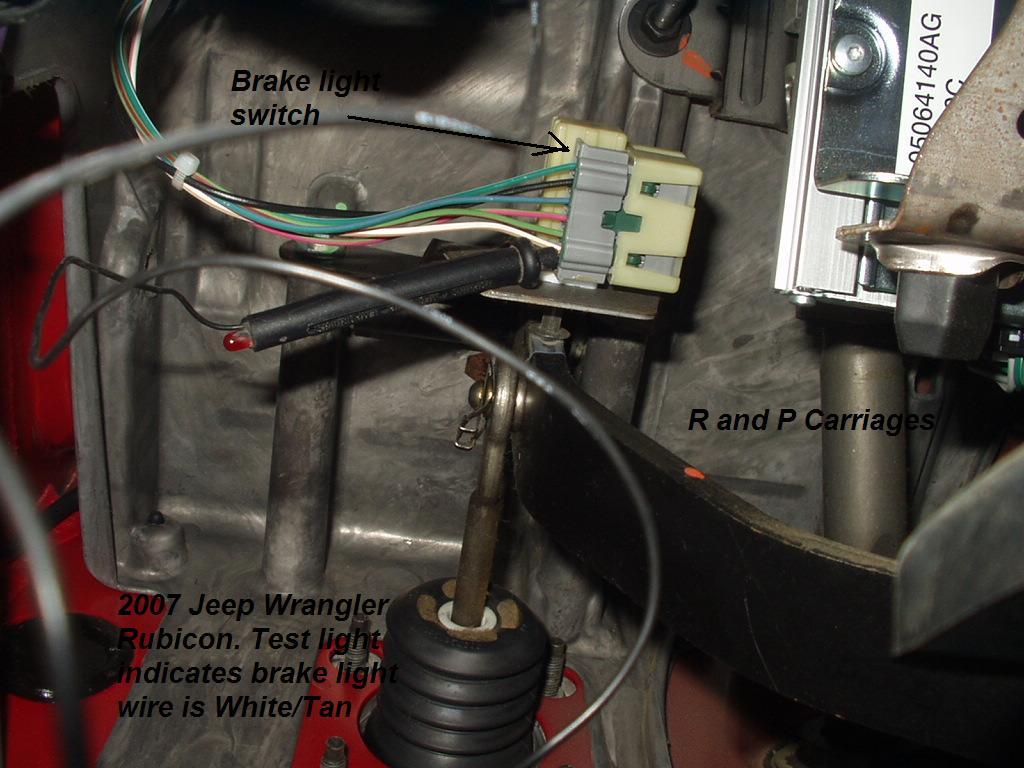 2007 Jeep Wrangler Truck Brake Controller Installation Instructions – Jeep Commander Trailer Wiring